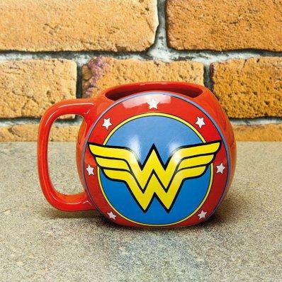 Kubek Tarcza Wonder Woman - dla każdego fana uniwersum DC