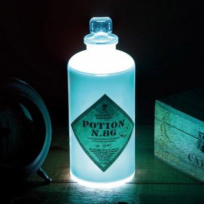Lampka Harry Potter Eliksir nr 86 - dla przyszłych czarodziejów, którzy szczególnie lubią warzyć eliksiry