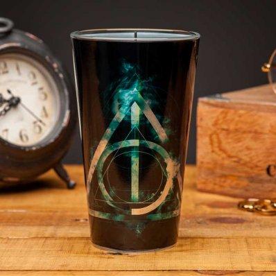 Szklanka Harry Potter Insygnia Śmierci - świetny prezent dla fanów magii - nie dla mugoli!