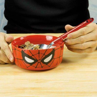 Zestaw śniadaniowy Spider-Mana - spider łyżka i miska!