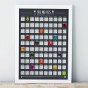 Plakat Zdrapka 100 filmów do obejrzenia