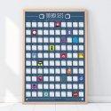 Plakat Zdrapka 100 seriali do obejrzenia