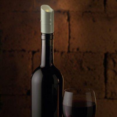 Świeczkowy stoper do wina