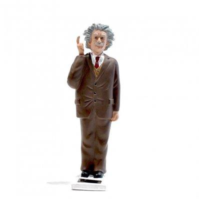 Figurka solarna Einstein - przypomina o myśleniu!