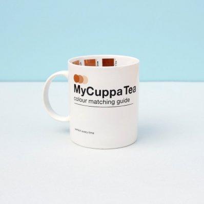 Kubek Z Kolorową Miarką - wypij idealnie zaparzoną kawę lub herbatę