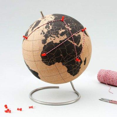 Korkowy Globus - pokaż innym gdzie byłeś!