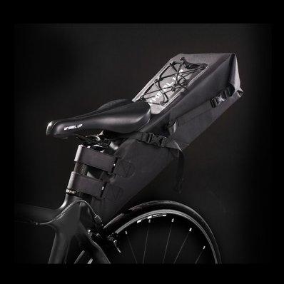 Torba rowerowa pod siodełko Wheel-UP - Czarna