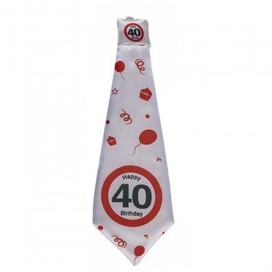 Krawat Urodzinowy Dla Czterdziestolatka
