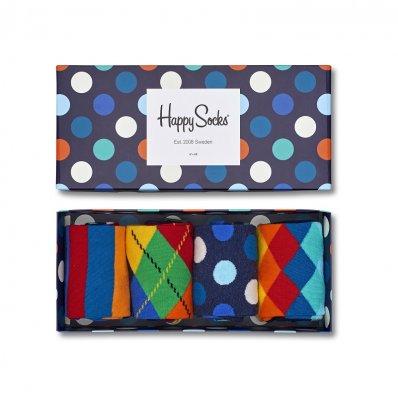 Zestaw skarpetek Happy Socks 4 szt.