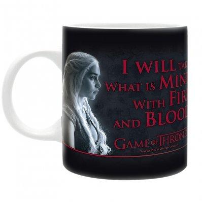 Kubek Gra o Tron Daenerys Targaryen