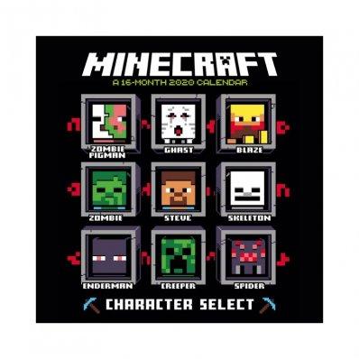 Kalendarz Minecraft 2020