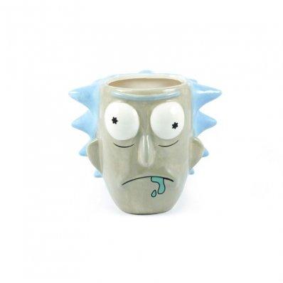 Kubek Rick and Morty - Rick 3D