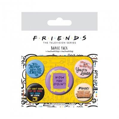 Przypinki Friends – serial Przyjaciele