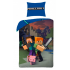 Pościel Minecraft Steve Alex Baby Pig 160x200cm