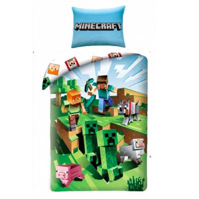 Pościel Minecraft Creeper 140x200cm
