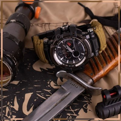 Survivalowy Zegarek
