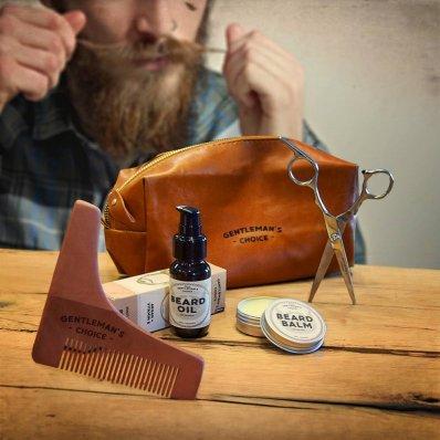 Zestaw Do Wąsów i Brody Dear Barber Grooming Kit - zadbaj o siebie drwalu!