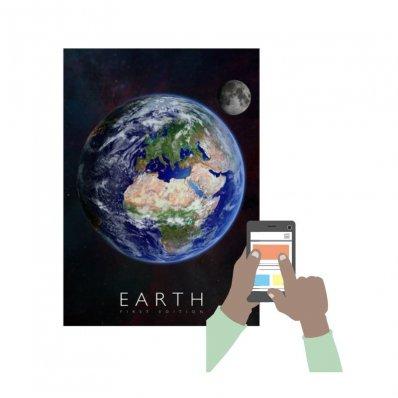 Interaktywny plakat z aplikacją