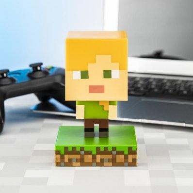 Lampka Minecraft Alex