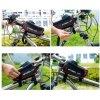 Sakwa rowerowa na ramę z pokrowcem na telefon Wheel Up