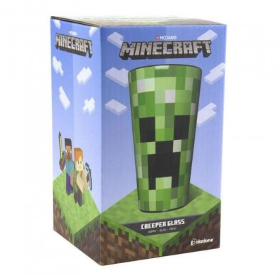 Szklanka Minecraft Creeper