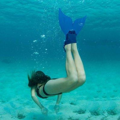 Płetwa Syreny do pływania