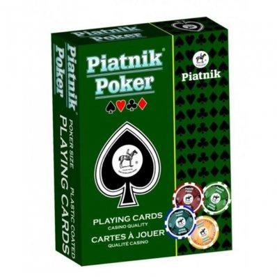 Karty Piatnik - Poker 100% Plastik