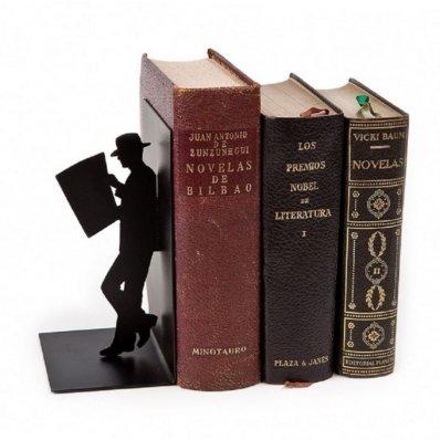 Podpórka do książek Man in black