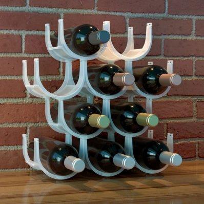 Modułowy stojak na wino
