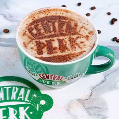 Filiżanka Central Perk zielona
