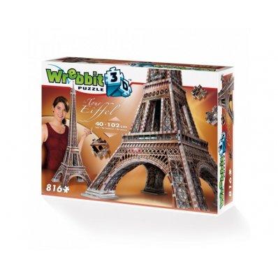 Puzzle 3D Wieża Eiffla - 816 elementów