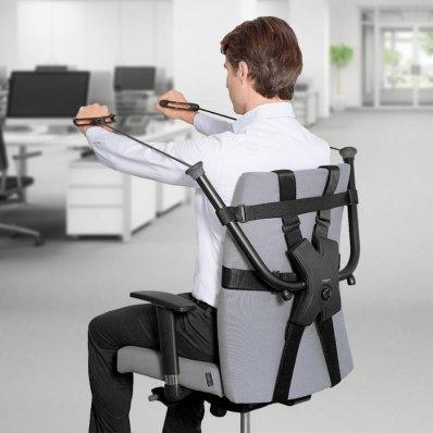 Biurowa siłownia dla siedzących