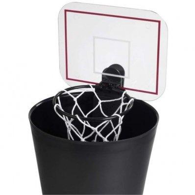 Koszykarski kosz na śmieci