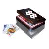 Karty Piatnik w pionowej szkatułce z asami - na każdy karciany wieczór