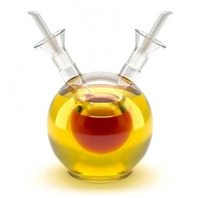 Podwójna karafka na oliwę
