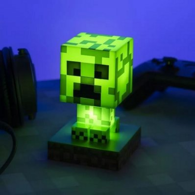Lampka nocna Minecraft Creeper Figurka