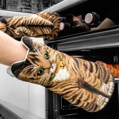 Rękawice kuchenne Kociary
