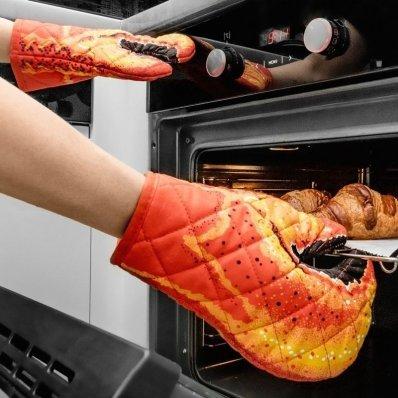 Rękawice kuchenne Szczypce Kraba