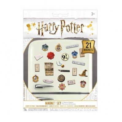 Magnesy na lodówkę Harry Potter