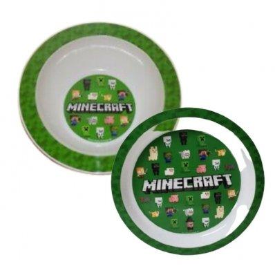 Zestaw śniadaniowy Minecraft
