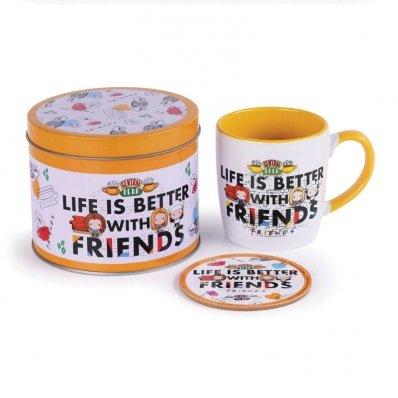 Prezentowy zestaw z kubkiem Friends
