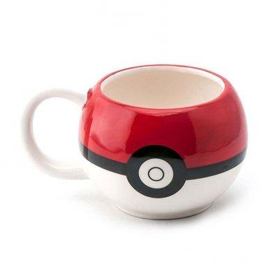 Kubek Pokemon Pokeball 3D
