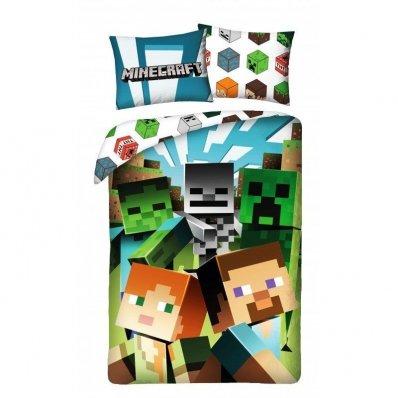 Dziecięca pościel Minecraft 140x200 cm