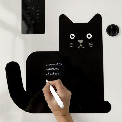 Magnetyczna tablica Kot na lodówkę