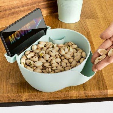Smart miska na przekąski i telefon