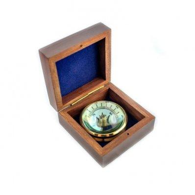 Kompas soczewkowy CLEB w pudełku