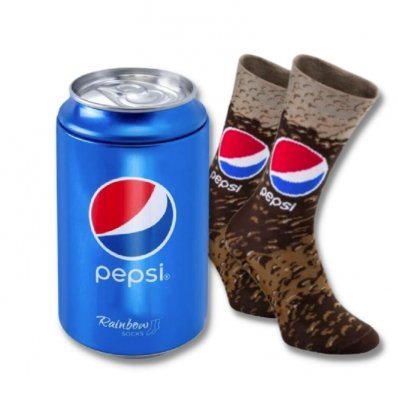 Skarpetki w puszce Pepsi