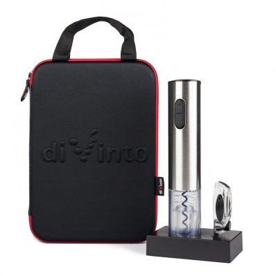 Elektroniczny korkociąg Silver Twister - prosty, elegancki, szybki