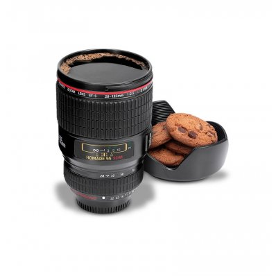 Kubek obiektyw - idealny na kawę i małe co nieco