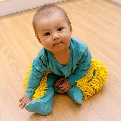Baby Mop - przyjemne z pożytecznym
